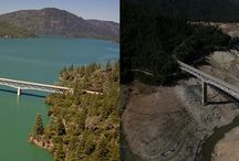 California Drought 2015 / With drought conditions continuing in California, on May 5th 2015 the state instituted emergency regulations requiring an immediate 25 percent reduction in overall potable urban water use.
