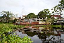 Amazonas! Peru, Kolumbien, Brasilien / Als #Reiseblogger auf dem #Amazonas. Unterwegs von Peru über Kolumbien nach Brasilien
