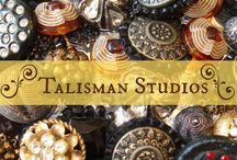 Talisman Shops in the Media / Stories about Talisman Shops, and the Talisman Studios or Talisman Too boutiques.  These included articles written by myself for my blog and articles which appear elsewhere on the web!  Stories will be about antique and vintage buttons, my beaded jewelry collection, and my lifestyle as a creative person.