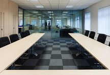 Boardroom and Meeting-Room Furniture / We have a variety of conference and meeting tables available ranging bespoke, metal, wooden, round, glass and also integrated technology options.