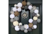 DIY-ideas / Christmas and eater wreaths