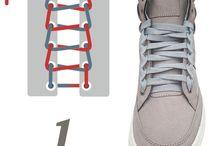 Nudos de agujetas / 10 sencillas opciones que le darán un nuevo aire a tus tenis.