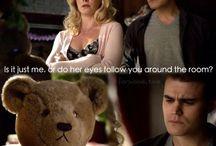 My Love for Stefan&Caroline / Love ,the vampire diaries