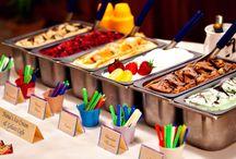 Reception Foods / Bec's reception