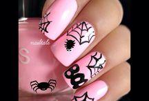 Halloween, Thanksgiving & Fall Nail Art / Lots of nail art inspiration!