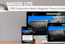 Maggie Lite: Best Free Magazine WP Theme