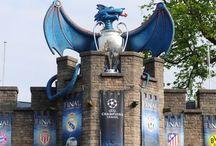 Wild creations - Uefa Dragon