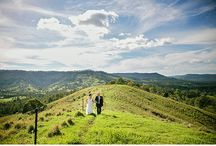 Gold Coast Hinterland - Mt Tamborine - Canungra Wedding Venues / The GC Hinterland has so hidden treasures and is a unique option to hold your wedding celebrations in a Bush Bound Paradise!