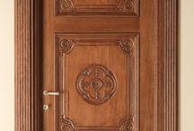 Teakwood door designs