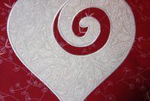 Happy Heart quilt squares