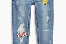 Kid Jeans Girls Pants