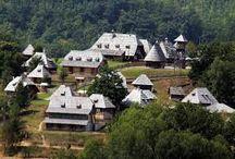 Our neighborhood / Drvengrad!!! Na samo 20min od naseg hotela najveca atrakcija naseg kraja...