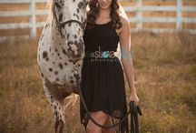 A girl and her horse photography
