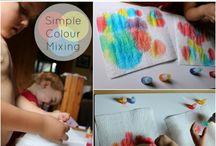 Tema rainbow activities
