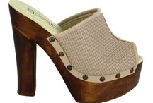 Suecos de Madera / clogs ,real wood, real leather !