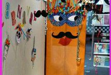 + Cuentos: disparatados / Un tablero lleno de historias disparatadas para leer en Carnaval. Todos los cuentos en Biblioteca Manuel Alvar (Zaragoza)