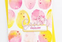 Easter Cards & Projects / Card inspiration, DIY projects, and ideas!