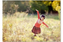 Child photography outdoors