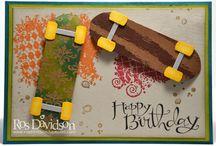 Boy's birthday cards