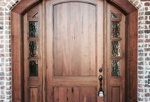 Traditional Arched Wood Doors