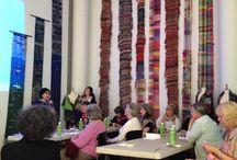 SAORI Kai / weaving talks and presentations at SAORI Kai