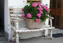 záhrada nábytok