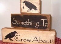Something to Crow About / primitive crows