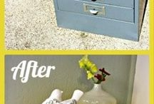 Up cycling in the home / Some nifty up cycling ideas for in the home