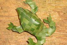 rietbladeren