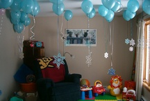 Winter ONEderland ideas  / Braxton will be turning one on December 29th. We're having his birthday party early since Christmas and New Year's Eve so we decided on a Winter ONEderland theme. I love it. / by Crystal Ward