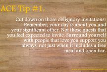 ACE Planning Tips / Quick Tidbits of Planning Knowledge from Bi-Coastal Event Planner, Antonia Christianson.