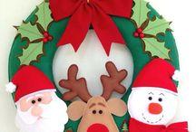 στεφάνια Χριστουγεννιατικα