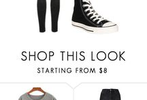 clothes/outfits/shoes...