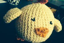 Crochet! / Ting jeg har hæklet!  Things I've crocheted!