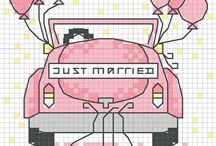 Cross stitch - wedding