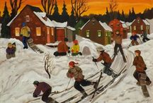 Nicole Laporte, artiste-peintre québécoise / Nicole Laporte est une artiste peintre québécoise Nicole Laporte is a painter from Quebec  http://www.multi-art.net/artistes/laporten.htm