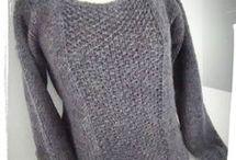 modèle de pull fille