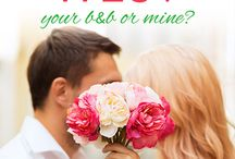 YOUR B&B OR MINE? inspiration / This is a sweet, Southern romance that hits 11/9/15. :)