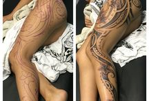 Polinesian tattos
