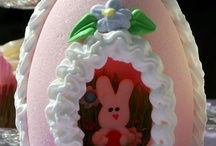 deco sugar eggs for easter