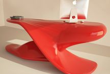 DESK DESIGN / ARCHER  / Office desks of ZAD DESIGN are unique design objects that combine originality, functionality and customization. In addition, all desks are made in one piece monocoque. You can customize your desktop with any color to be (even more than one) or logo. TOP DESIGN MADE IN ITALY