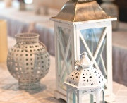 lanterns and candles for outdoor