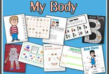 Unit Ideas: Human Body / Teaching kids about the human body.  / by Katie @ Gift of Curiosity
