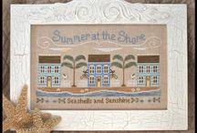 Summer cross stitch / Cross stitch / by Ellen Behan-Heinbockel