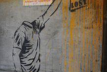 Arte urbano, protestas sociales y comunicación