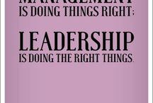 Leadership / Leadership & Management
