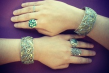 Off the Cuff / Everyone's doubling up on cuffs for this sizzling summer statement look: wear a matching cuff on each wrist or strike a complimentary chord with two different pieces; for added flair, style with stackable bracelets and bangles. The bold, eye-catching look underscores an outfit like nothing else -- so turn some heads with your hip wrists!