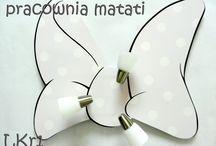 Lampy sufitowe - kokarda Minnie