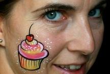 Face painting - Cheek art
