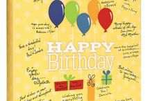 Birthday: Balloons / Great for kids, family and staff birthdays! #birthdayparty #betterthanagreetingcard #keepsake